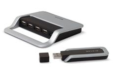 Belkin Cable-Free USB Hub (F5U301) - $199.99